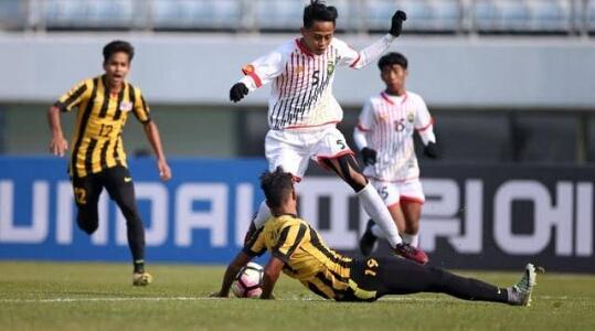 Pesta Gol Kemenangan Malaysia Vs Brunei Pada Laga Kualifikasi U-19 Piala Asia