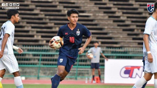 Telak 21 – 0, Thailand Pesta Gol Di Atas Mariana Utara Dalam Kualifikasi Piala Asia U-19